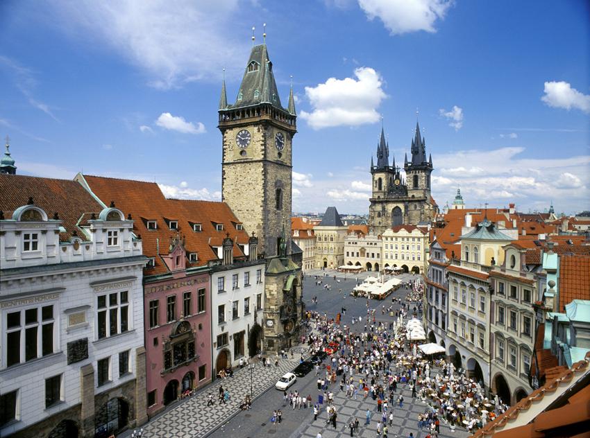 Прага, центр