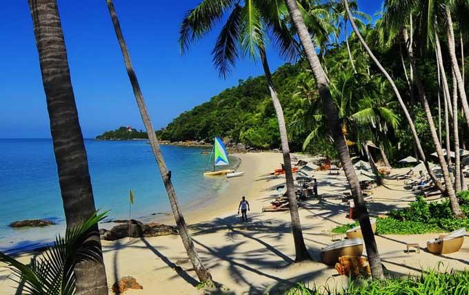 Пляж Бангпо