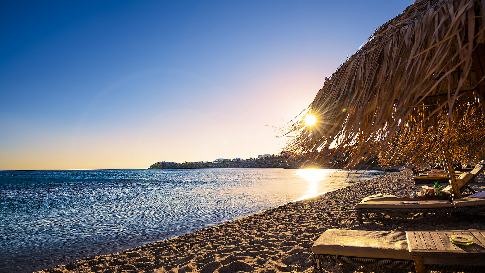 Пляж Paradise, Миконос