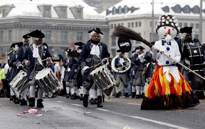 Карнавал в Люцерне