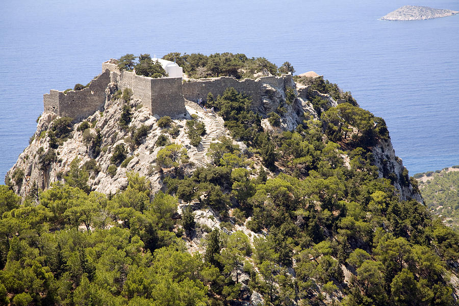 Замок Монолит, Родос