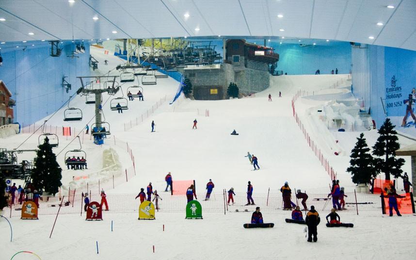 Комплекс Ski Dubai