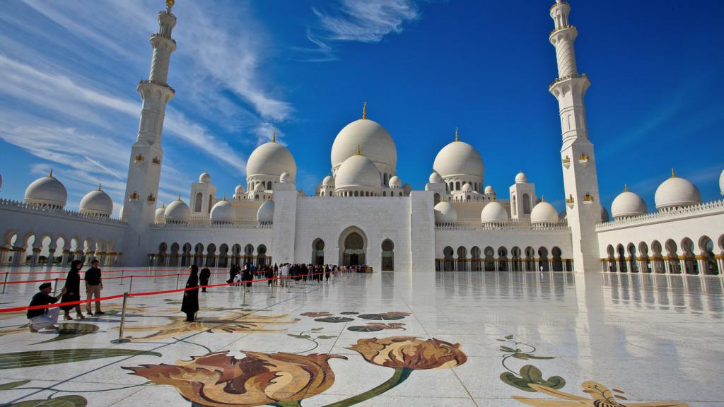 Мечеть шейа Зайда, Абу-Даби