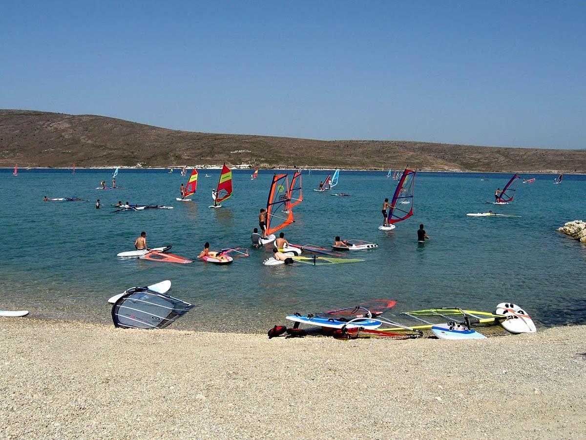 Серфинг в Алачати