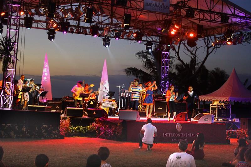Музыкальный фестиваль, Бали