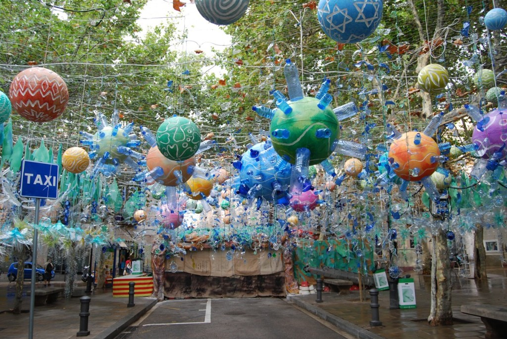 Праздник в квартале Грасия