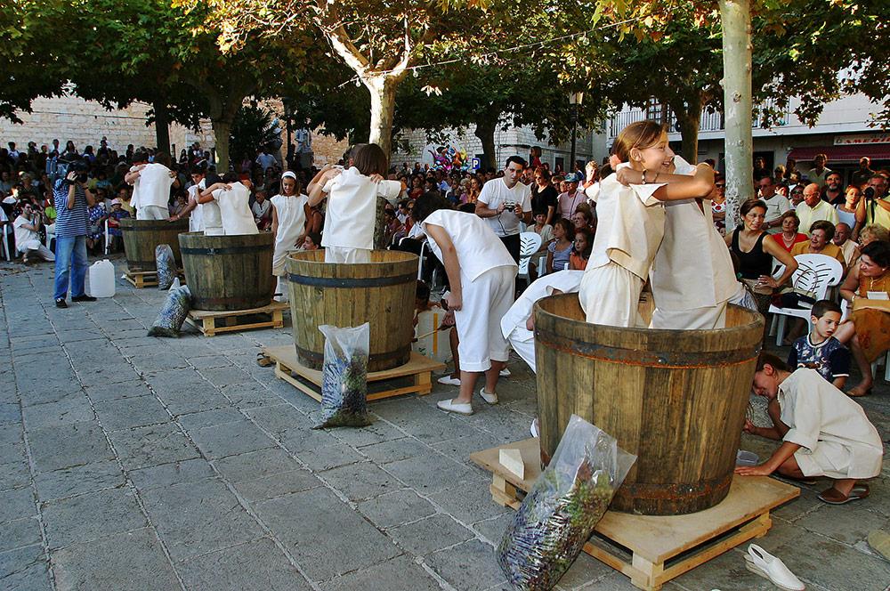 Праздник сбора винограда в Биниссалеме