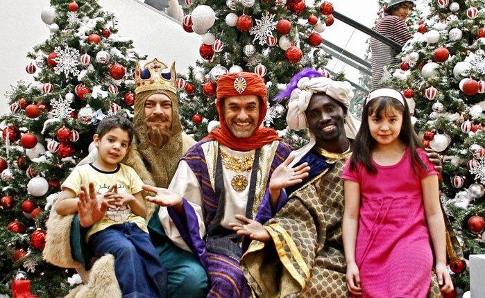 Праздник el Dia de los Tres Reyes Magos