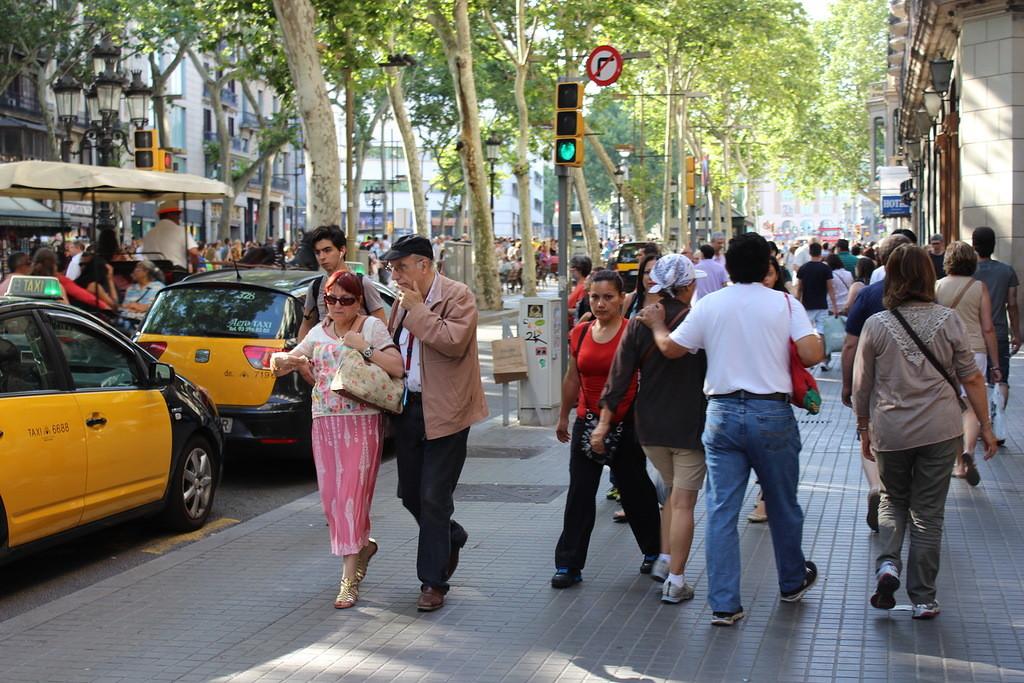Улицы Барселоны