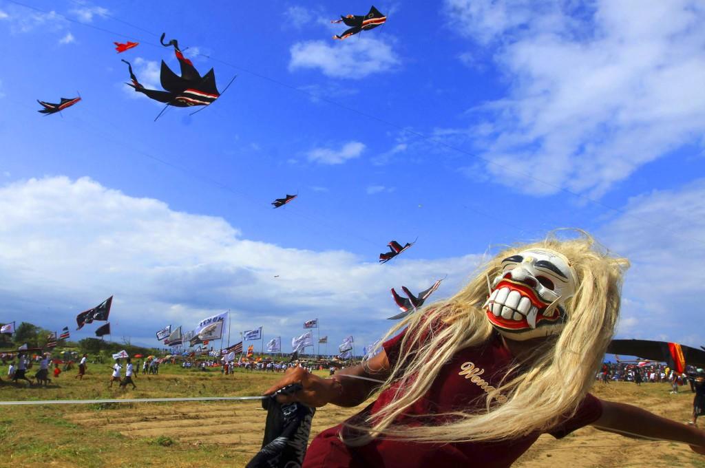 Фестивале воздушных змеев