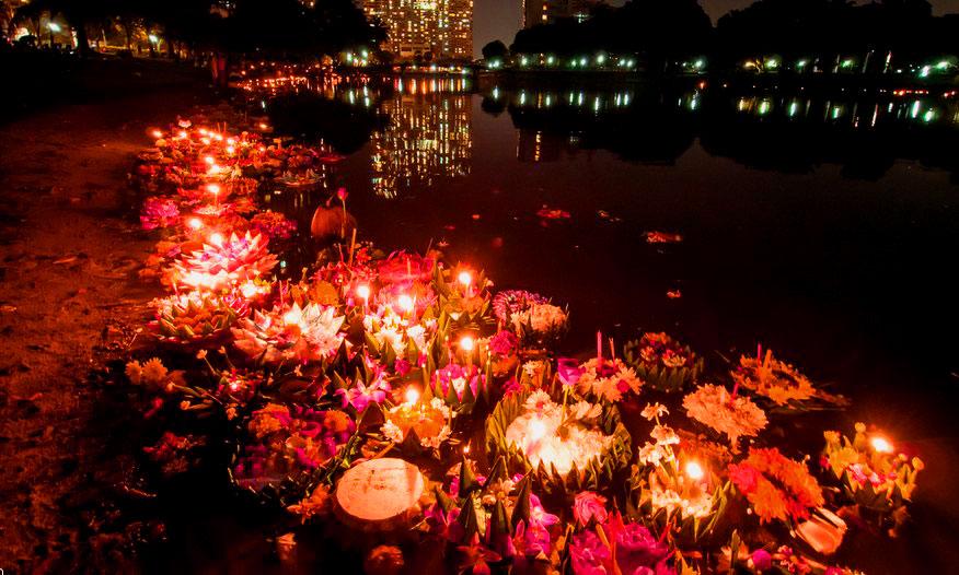 Фестиваль Полнолуния Лой Кратонг