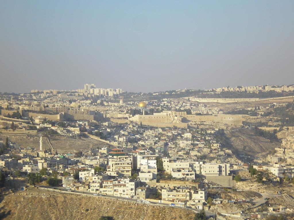 Вид на Храмовую гору, Иероусалим