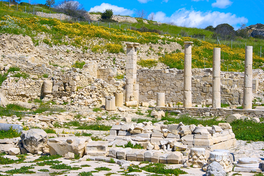 Античный город Аматус