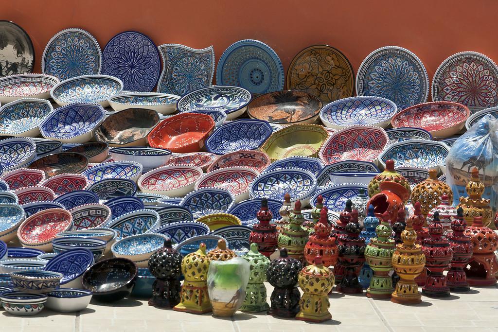 Тунис, посуда