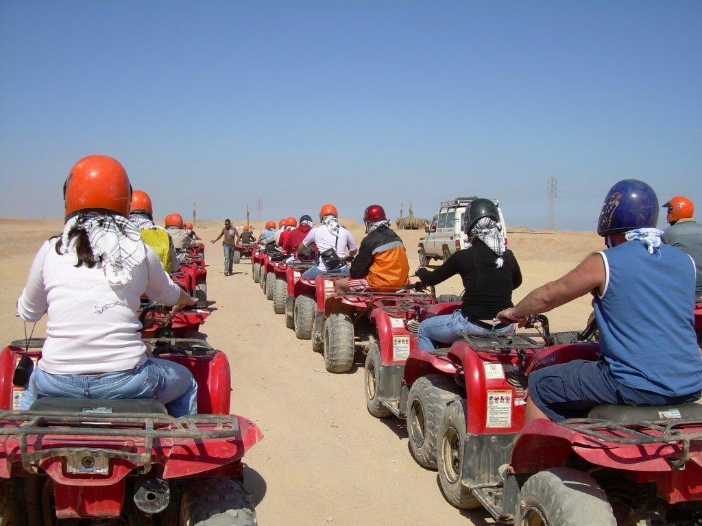 Сафари на квадроциклах, Египет