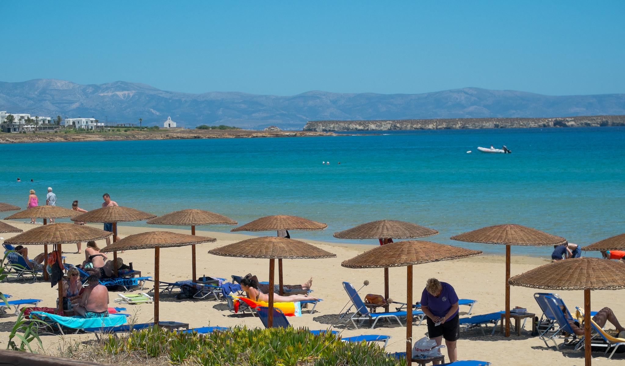 Пляж Golden Beach, Парос