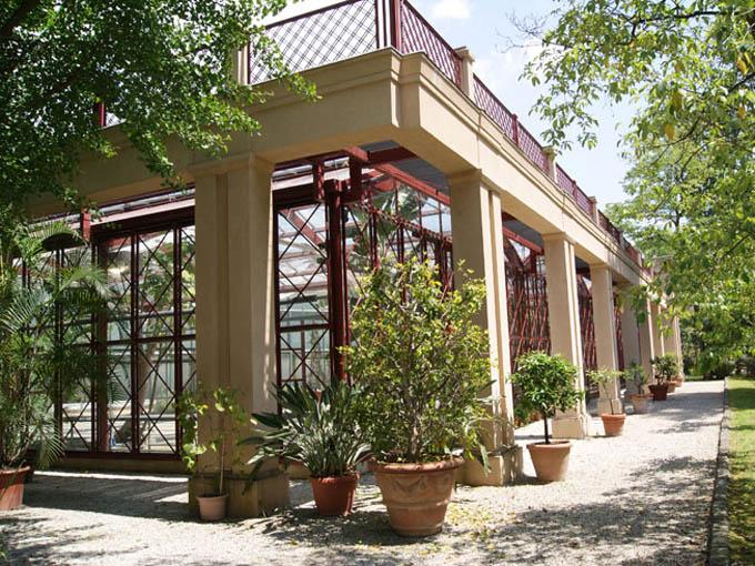 Тоскана: Ботанический сад, Лукка