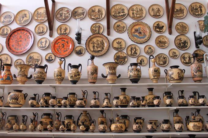 Что привезти из Греции:  Греческая керамика