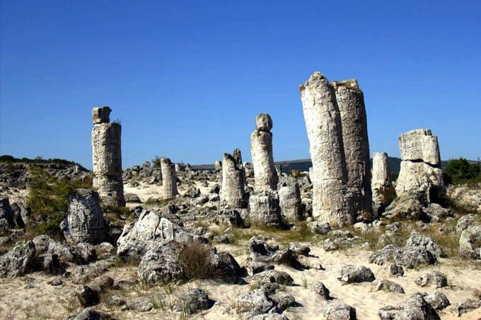 Лес каменных деревьев, Болгария