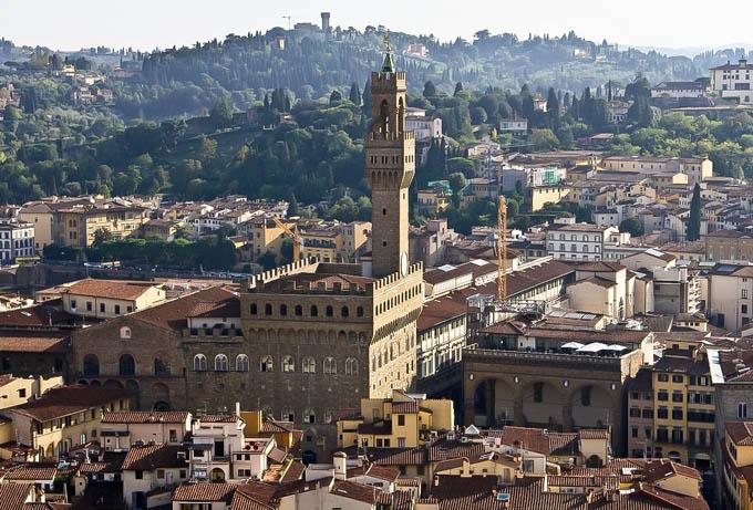 Тоскана: Палаццо Веккьо, Флоренция