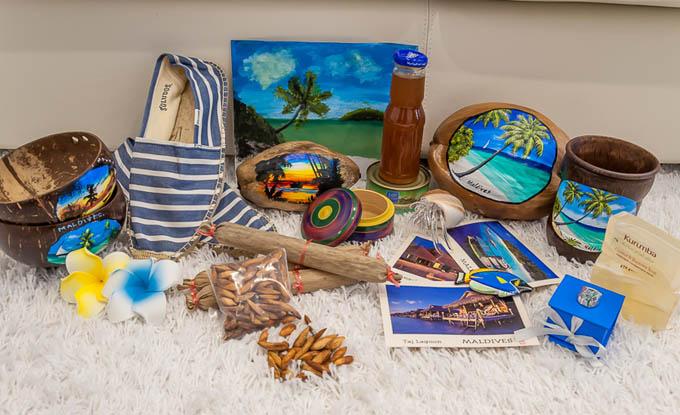 Сувениры с Мальдивских островов