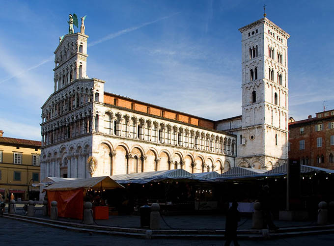 Тоскана: Церковь Сан-Микеле-ин-Форо, Лукка