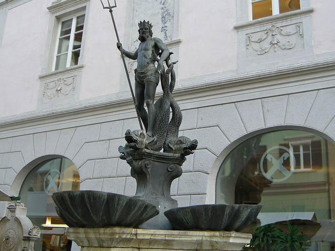 Фонтан Нептуна, Больцано