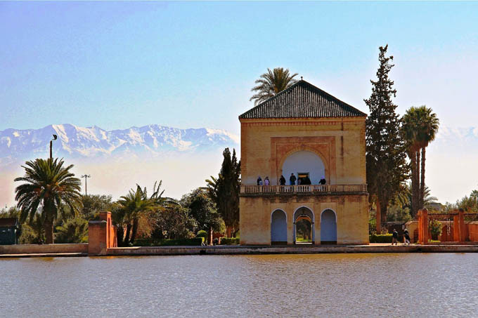 Сады Менара, Марракеш