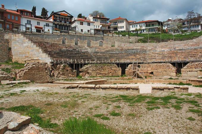Античный амфитеатр, Охрид