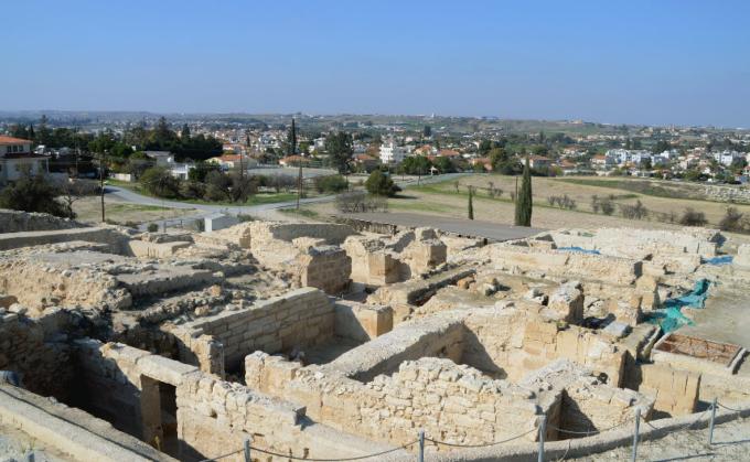 Древний город Идалион