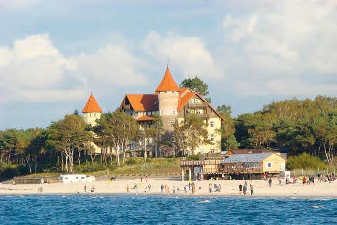 Курорт Леба, Польша