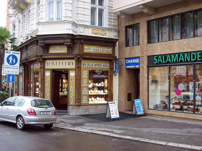 Магазин Salamander, Карловы Вары