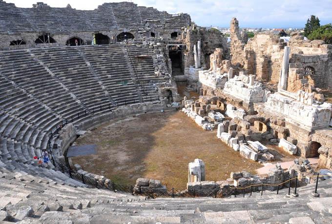 Античный театр, Сиде