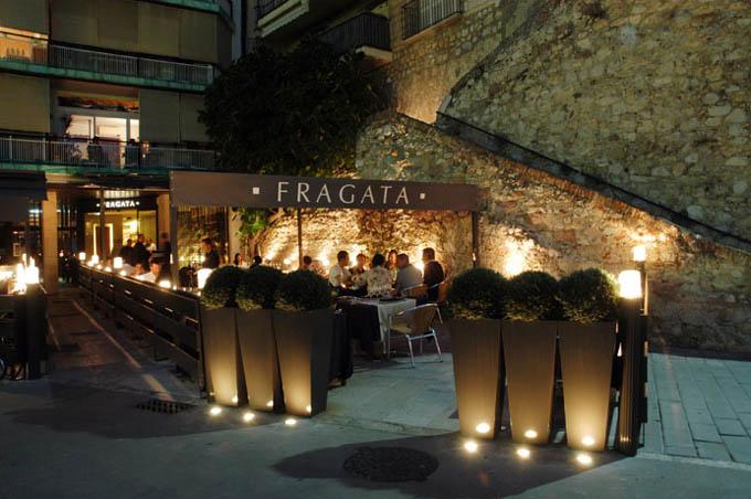 Ресторан Fragata, Коста-Брава