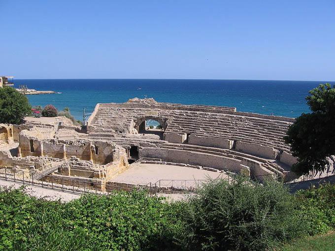 Римский амфитеатр, Коста-Дорада