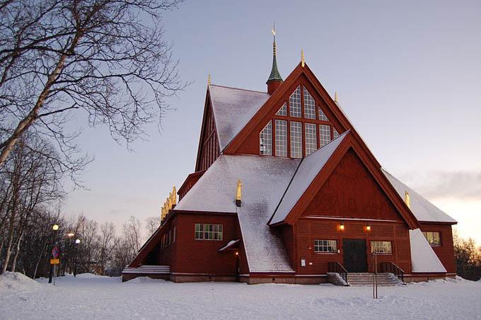 Приходская церковь, Кируна