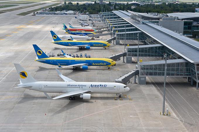 Авиабилеты в города Украины
