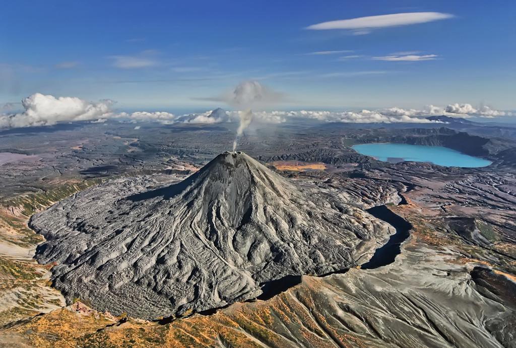 Камчатка, вулкан