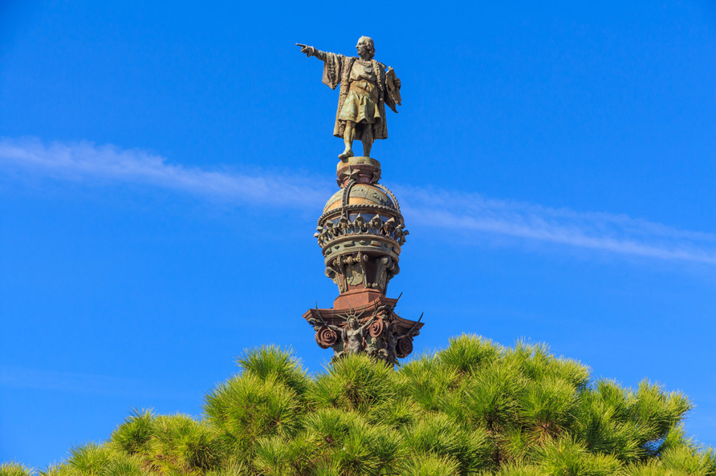 Памятник Колумбу, Барселона