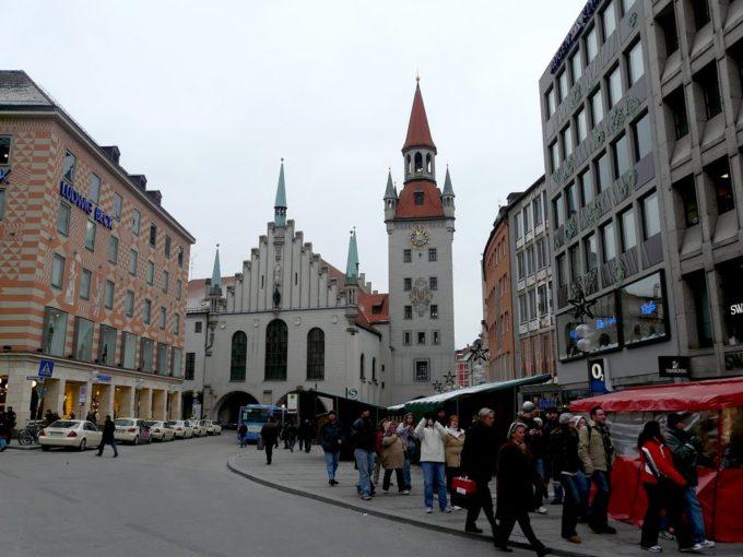 Мюнхен, Старая Ратуша