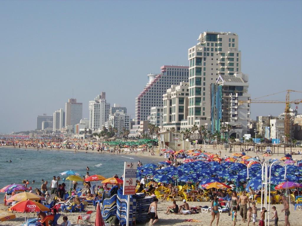 Набережная в Тель-Авив