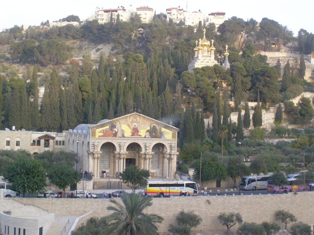 Масличная гора. Церковь Святой Марии Магдалины
