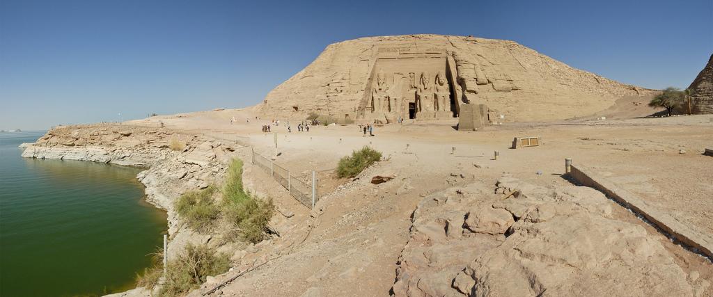 Храм Рамзеса 2, Абу-Симбел. Фото: Dennis Jarvis / flickr.com