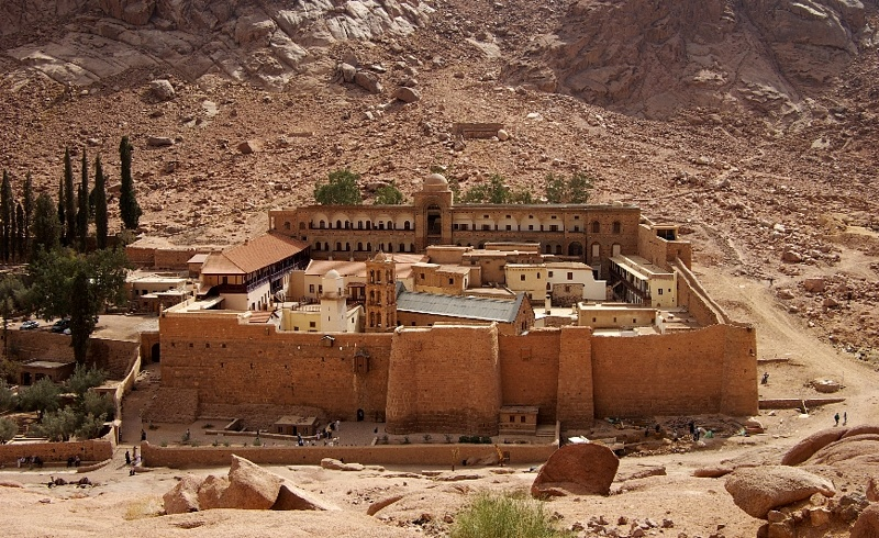 Храм Святой Екатерины, Шарм-эль-Шейх