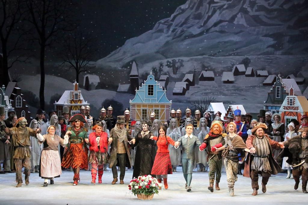 История Кая и Герды, Большой театр, Москва