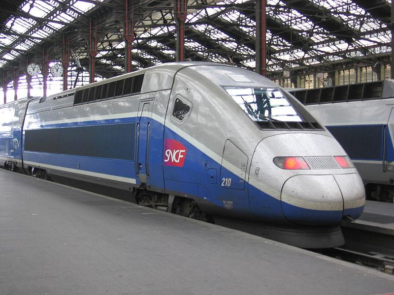 Поезд Ницца-Париж