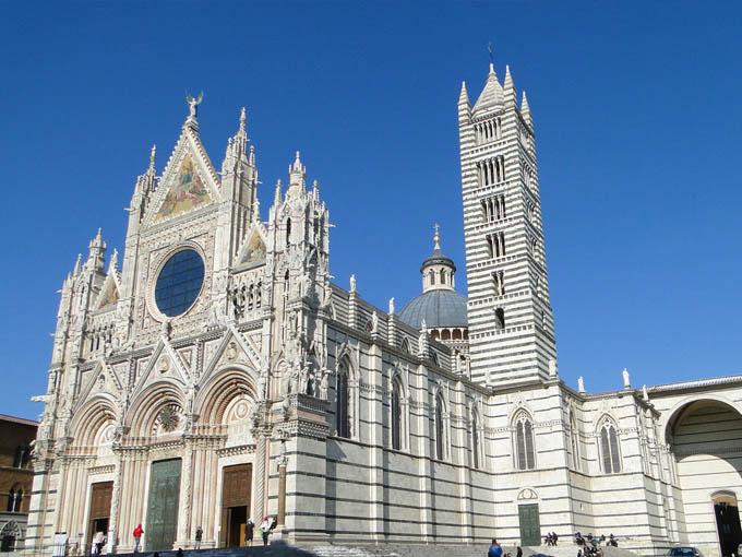 Тоскана:  Duomo di Siena, Сиена