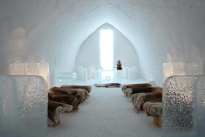 Ледяной отель, Финляндия