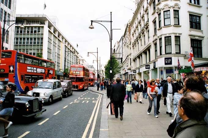 Что привезти из Великобритании: Оксфорд-стрит, Лондон