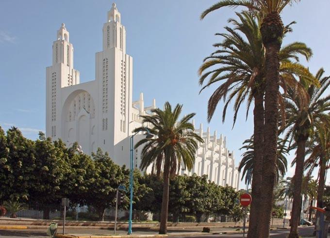 Собор Святое сердце, Касабланка